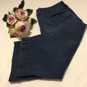West Bound  ladies  capris jeans 14